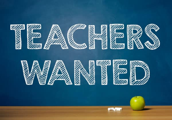 teaching vacancies