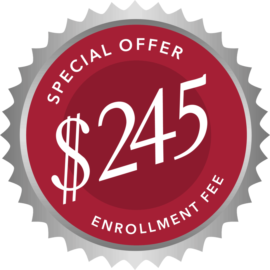 245 Enrollment Fee