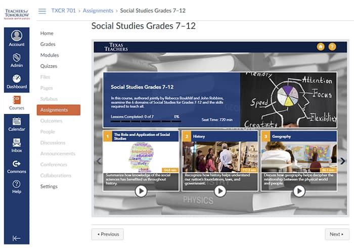 TExES Content Exam Preparation Modules Texas Teachers