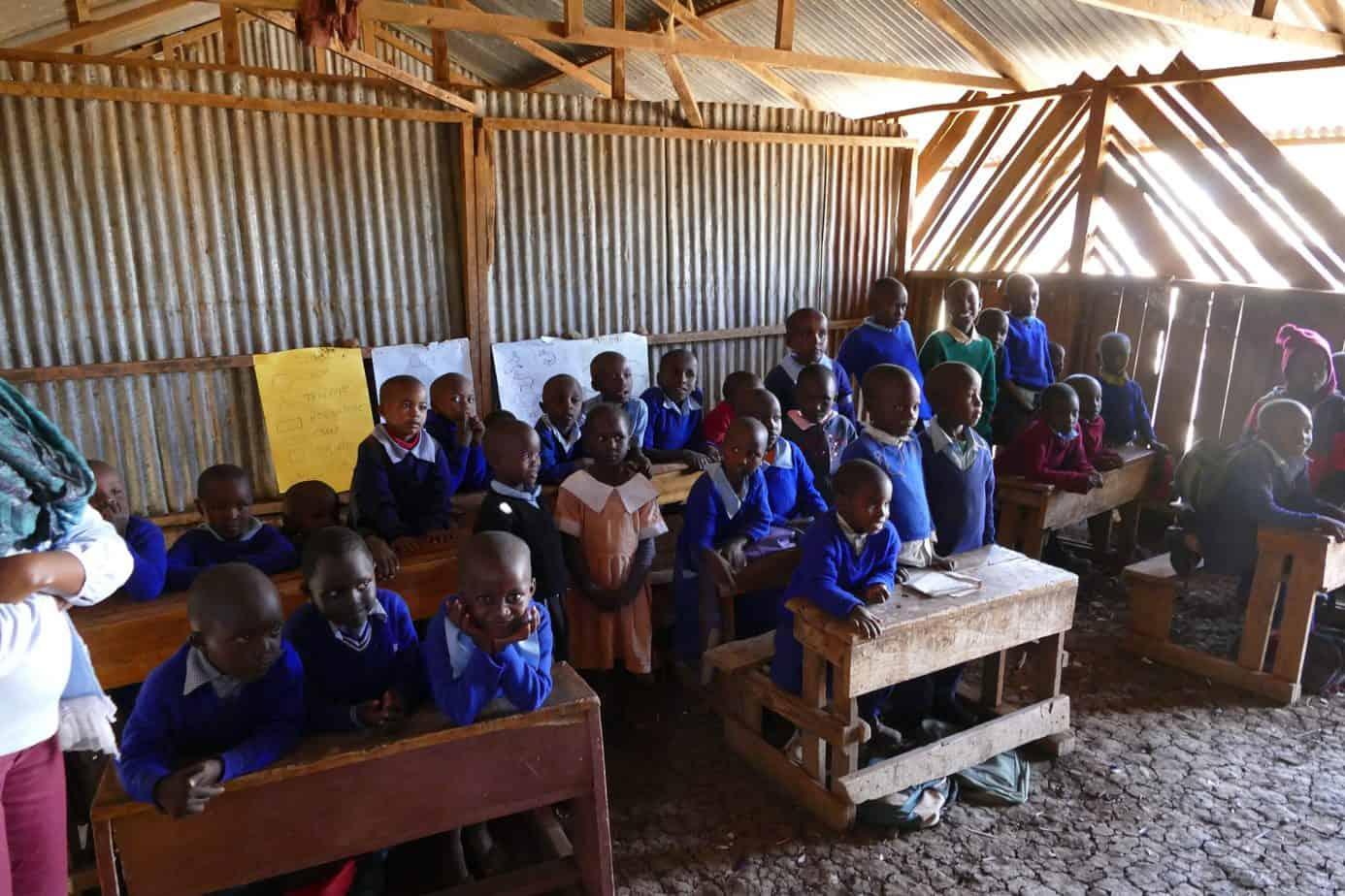 adopt a classroom charity kenya