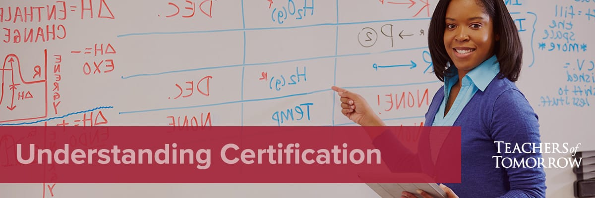state certification process